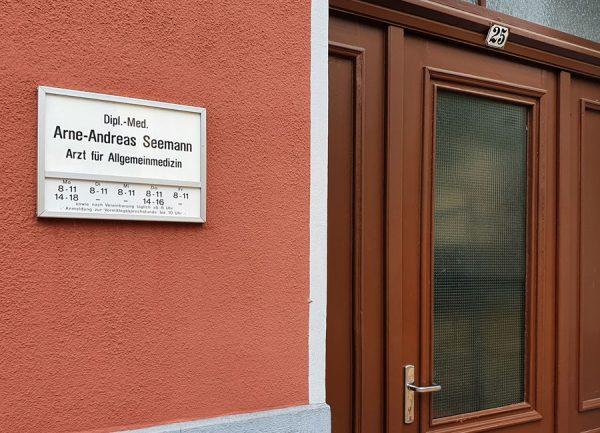 Praxis Arne Seemann Außenansicht
